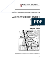 bsc  hons  arch   studio arc60306   project 1 august 2018 v3
