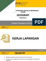 PP Kerja Lapangan Geografi Tingkatan 2