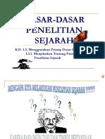 DASAR-DASAR PENELITIAN SEJARAH.ppt