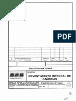EspecificaCION Ductos de Gas