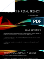 Insights in Retail Marketing