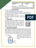 UNIDAD I Reactores Homogeneos Investigacion