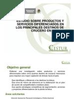 Estudio sobre productos y servicios
