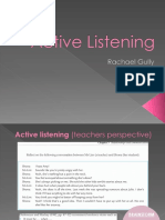 active listening mle