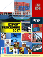 Export Procedure 2017