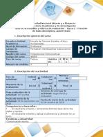 Guía de actividades y rúbrica de evaluación - Tarea 2 - Creación de texto descriptivo, autorretrato.docx