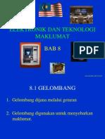 Bab 8 Elektronik Dan Teknologi Maklumat