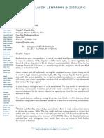 Sept 27 Letter to Gapnote
