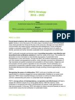 PEFC Strategy 2018-2022