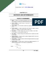 12 Mathematics Impq CH3-4 Matrices and Determinants 01