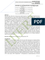Effect of CO2 sequestration on soil liquefaction in geological pits
