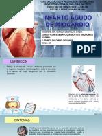 Cardiología infarto agudo