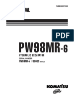 Komatsu PW98MR-6 Hydraulic Excavator Service Repair Manual SN F00003 and up.pdf