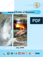 Hazard Profile of Myanmar