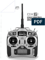 Spektrum Dx6i Manual