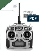 Spektrum Dx6i Manual