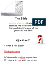 week 1 introduction to the bible