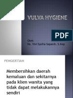 Vulva Hygiene