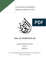 Tugas Bahasa Indonesia Obsevasi