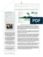 Saudi Mission to the EU - September Newsletter