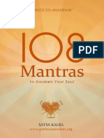 108 Mantras to Awaken Your Soul - Kalra, Satya