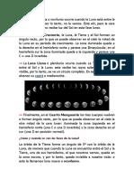 Fases Luna