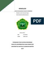 Makalah Ormas-Ormas Islam Di Indonesia