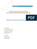 Guidelines for the Preparation of Graduation Projects Sats
