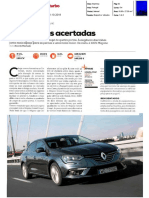 "RENAULT MÉGANE GRAND COUPÉ 1.6 dCi NA ""TURBO"""