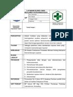7.6.6.b Sop Layanan Klinis Yang Menjamin Kesinambungan