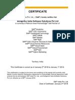 Platinum Level PartnerEdge -Itelligence India Software Solutions Pri...