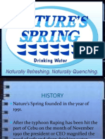 Nature Spring History