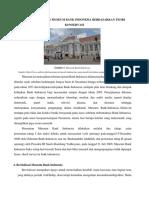 Analisis Bangunan Museum Bank Indonesia Berdasarkan Teori Konservasi