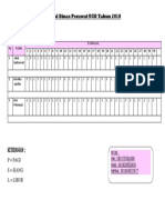 Jadwal Dinas Perawat UGD SEPTEMBER 2018