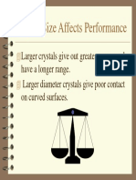 Crystal Size