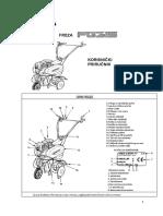 Honda Motorna Freza FG315