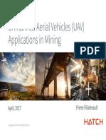 mining and uav