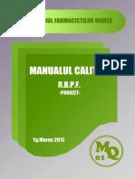 MANUALul Calitatii in Farmacie .pdf
