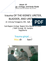 1 & 2 - Trauma of Kydney, Ureter, Bladder, And Urethra