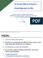 CJD Relational SQL