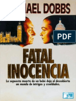 Michael Dobbs - Fatal Inocencia