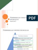 BU. LIA - Pemeriksaan fisik sistem neurologi.ppt