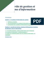 cdg et système d'information