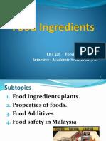 4 Food Ingredients