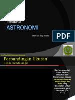 Introduksi Astronomy