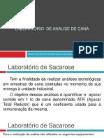 Laboratório de Analise de Cana