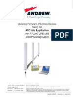 Updating Firmware of Andrew Devices Using the ATC Lite Application With ATC200-LITE-USB Teletilt Control System