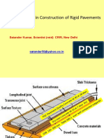 Satander Kumar QC Rigid Pavement