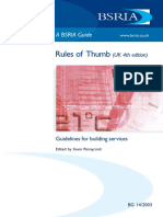 Rules of Thumb (UK 4th Edition) Guidelines for Building Services