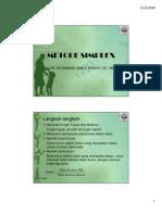 METODE SIMPLEX-1
